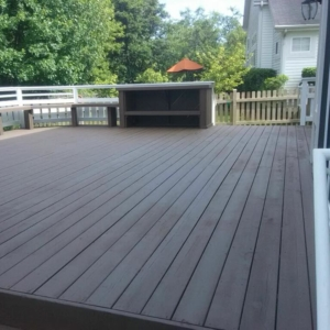 Deck Repair and Paint