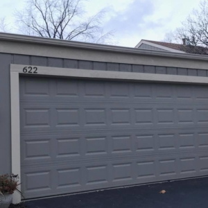 Garage Wood, Siding and Gutters